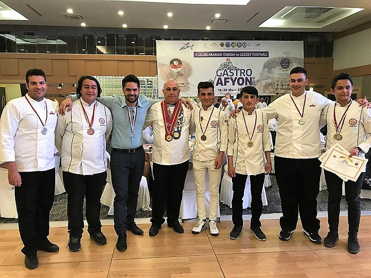 Gastro Afyon Cooking Competition, Turkey 2018