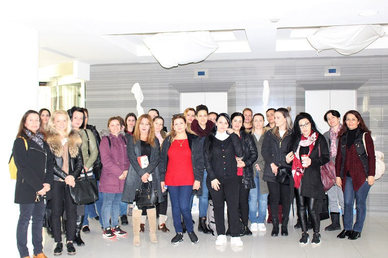 Educational visit of the Housekeeping Department of Anko Academy Rhodes at the Elysium Hotel.